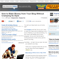 How to Make Money from Your Blog Without Cramping Its Style