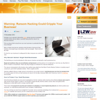 Warning: Ransom Hacking Could Cripple Your Business!