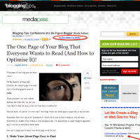 The One Page of Your Blog That Everyone Wants to Read (And How to Optimise It)