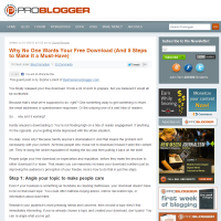 Why No One Wants Your Free Download (And 5 Steps to Make It a Must-Have)