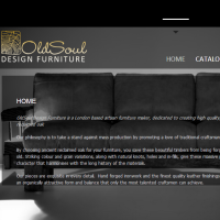 Web Copy Writing for OldSoul Design Furniture