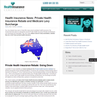 Health Insurance News: Private Health Insurance Rebate and Medicare Levy Surcharge