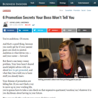 6 Promotion Secrets Your Boss Won't Tell You